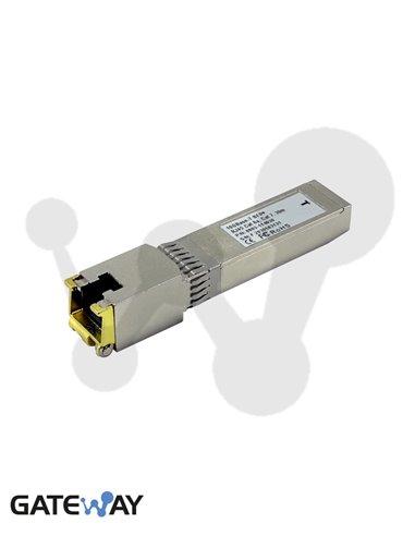 Transceiver SFP, 1000Base-T, cobre 100 m, RJ45 Cat 5e, 6, 6a