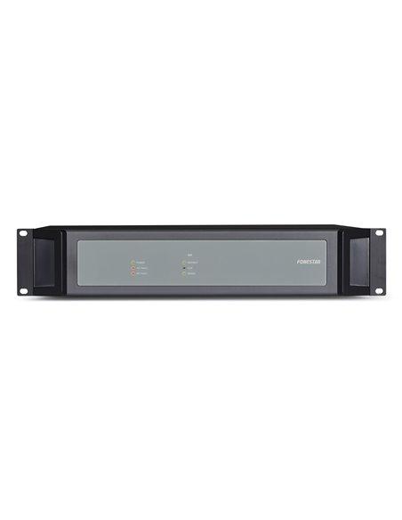 Etapa de potencia digital para sistema de megafonía y alarma por voz EN 54, 500 W