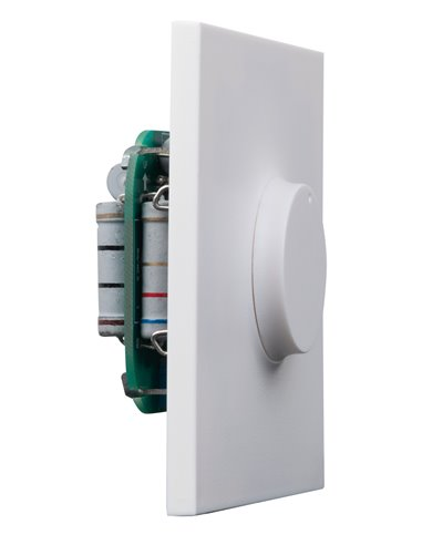 Atenuador de baja impedancia 10 W máx. mono para montaje empotrado o en superficie.