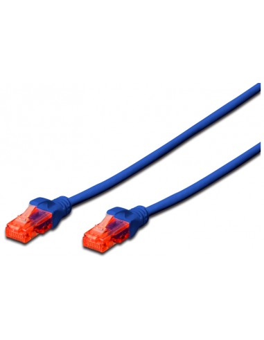 Latiguillo UTP Cat 6, 5 m, Azul