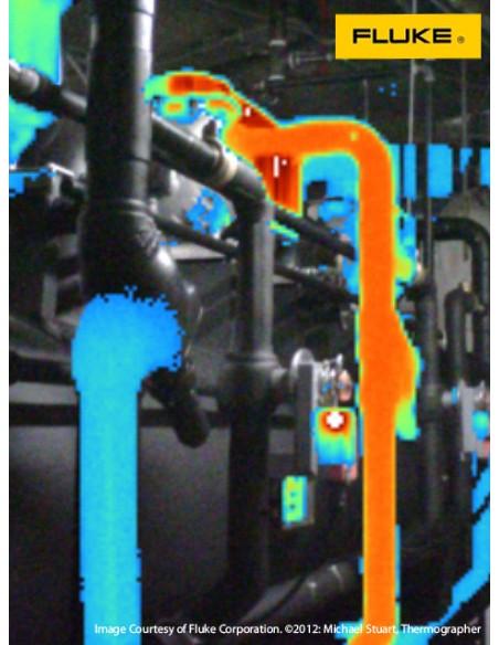 Camara termografica industrial