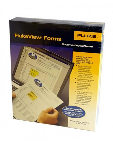 Software FlukeView Forms v 3.0 + cable PC para Serie 180, 1650 y 1550B