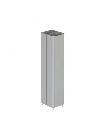 Prolongación columna Simon 500 Cima 2 caras de 0.5 m, aluminio