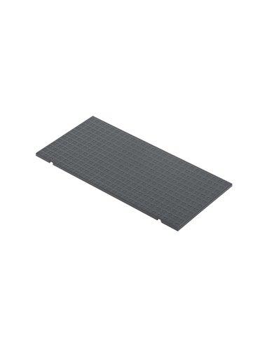 Tapa de enrasamiento S500, 4 módulos, gris