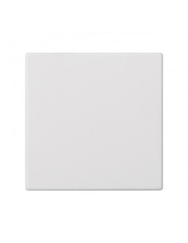 Placa S500 ciega individual, blanca