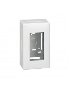 Caja superficie S500, 1 módulo, blanco
